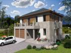 Проект просторного двухэтажного коттеджа